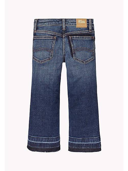 TOMMY HILFIGER Culotte Fit Jeans - NEW YORK CROSS HATCH STRETCH - TOMMY HILFIGER Girls - main image 1