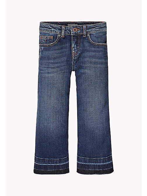 TOMMY HILFIGER Culotte Fit Jeans - NEW YORK CROSS HATCH STRETCH - TOMMY HILFIGER Girls - main image