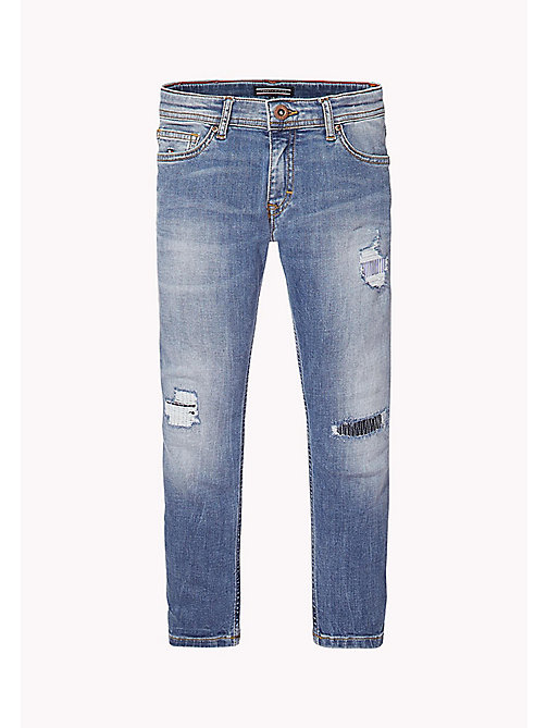 TOMMY HILFIGER Jean court - UTAH CROSS HATCH STRETCH - TOMMY HILFIGER Filles - image principale