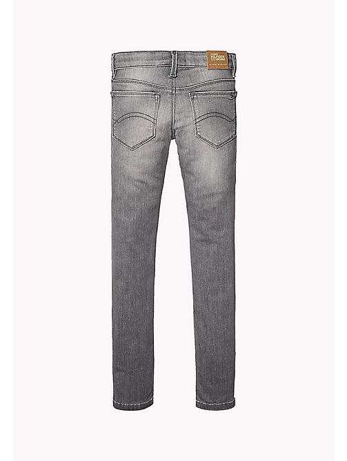TOMMY HILFIGER Skinny Fit Jeans - OREGON GREY POWER STRETCH - TOMMY HILFIGER Girls - detail image 1