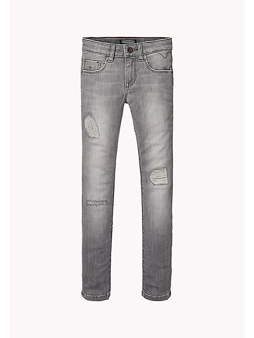 TOMMY HILFIGER Jean skinny fit - OREGON GREY POWER STRETCH -  Pantalons & Jupes - image principale
