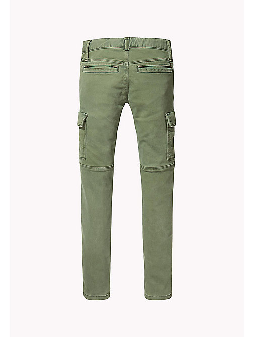 TOMMY HILFIGER Skinny Fit Utility Trousers - THYME - TOMMY HILFIGER Trousers, Shorts & Skirts - detail image 1