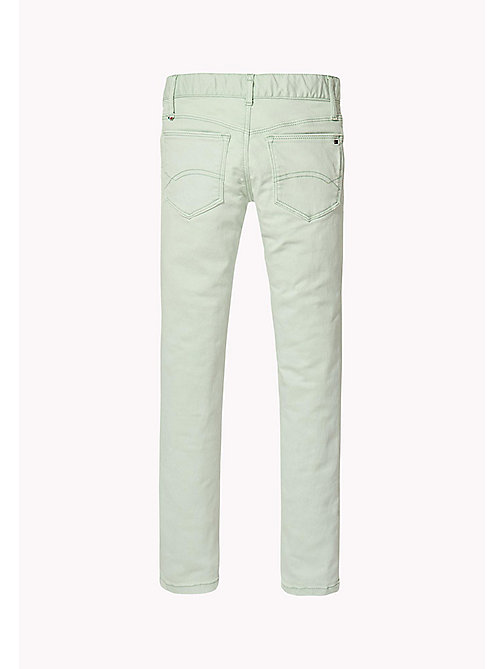 TOMMY HILFIGER Skinny Fit Colour Wash Jeans - AQUA FOAM - TOMMY HILFIGER Jeans - detail image 1