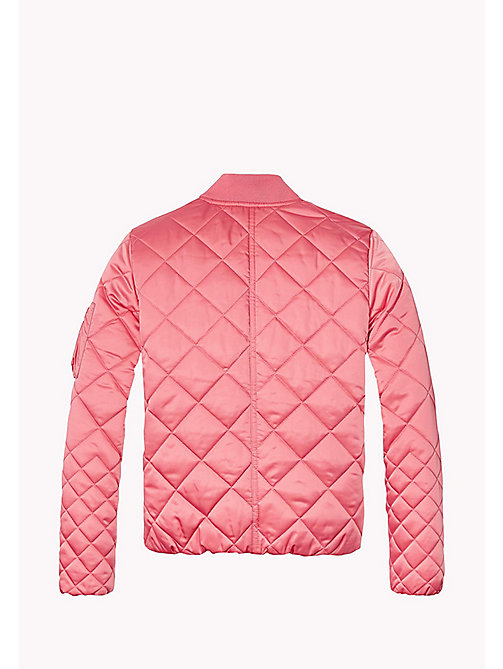 TOMMY HILFIGER Quilted Bomber Jacket - CONFETTI -  Girls - detail image 1