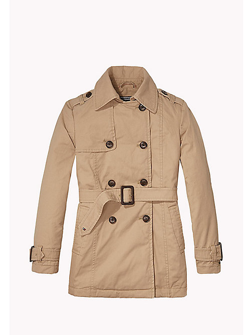 TOMMY HILFIGER Classic Trench Coat - BATIQUE KHAKI - TOMMY HILFIGER Girls - main image
