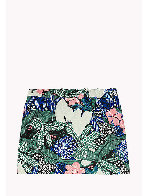TOMMY HILFIGER A-Line Printed Skirt - NAVY BLAZER - TOMMY HILFIGER Trousers, Shorts & Skirts - detail image 1