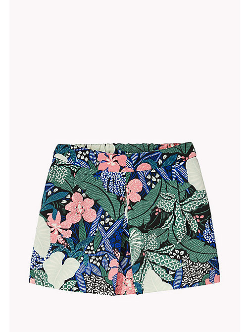 TOMMY HILFIGER A-Line Printed Skirt - NAVY BLAZER - TOMMY HILFIGER Trousers, Shorts & Skirts - main image