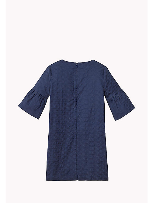 TOMMY HILFIGER Flared Cuff Shift Dress - BLACK IRIS - TOMMY HILFIGER Dresses - detail image 1