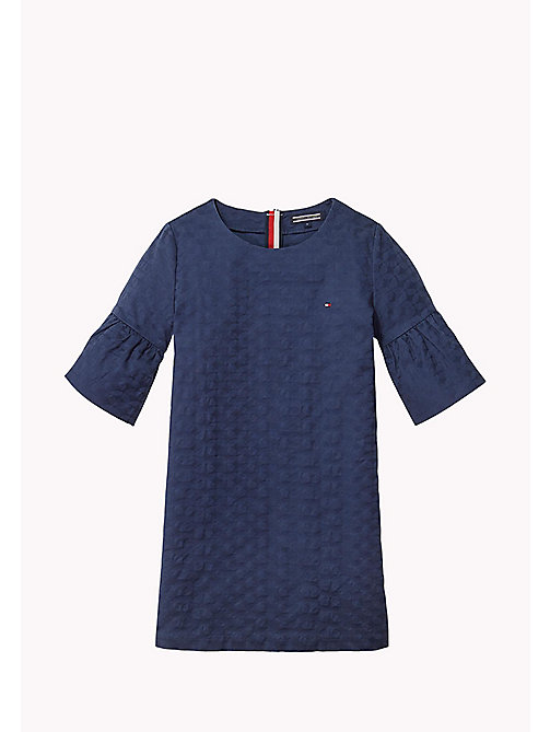 TOMMY HILFIGER Flared Cuff Shift Dress - BLACK IRIS - TOMMY HILFIGER Dresses - main image