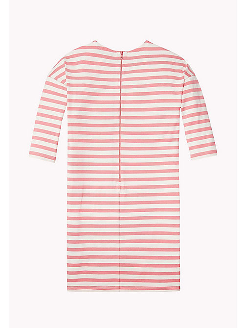 TOMMY HILFIGER Striped Jersey Dress - CONFETTI - TOMMY HILFIGER Girls - detail image 1