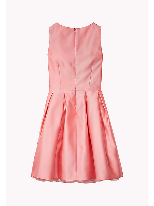 TOMMY HILFIGER C SATIN DRESS SLVLS - CONFETTI - TOMMY HILFIGER Платья - подробное изображение 1