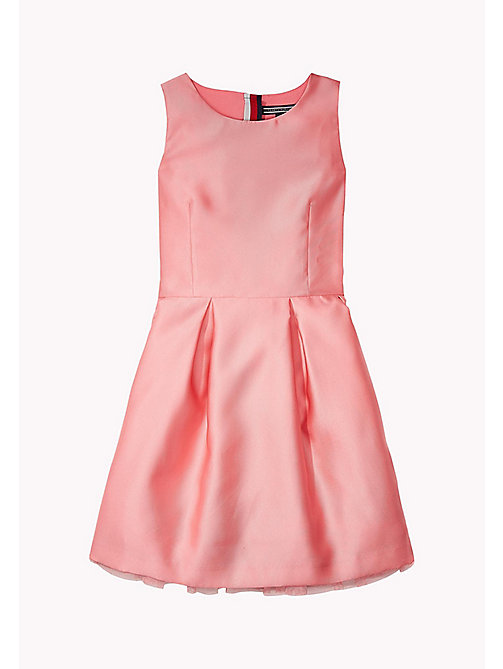 TOMMY HILFIGER C SATIN DRESS SLVLS - CONFETTI - TOMMY HILFIGER Платья - главное изображение