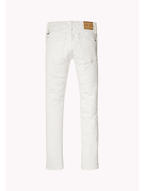 TOMMY HILFIGER Kids' Skinny Fit Jeans - BRIGHT WHITE - TOMMY HILFIGER Trousers, Shorts & Skirts - detail image 1