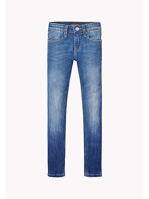 Nora Skinny Fit Jeans im Used-Look - CALI MID POWER STRETCH - TOMMY HILFIGER Mädchen - main image 1