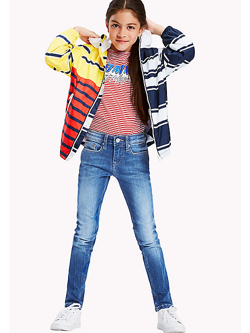 TOMMY HILFIGER Nora Faded Skinny Fit Jeans - CALI MID POWER STRETCH - TOMMY HILFIGER Girls - main image