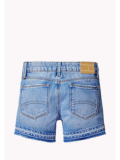 TOMMY HILFIGER Shorts slim fit in denim - VALLEY SKY BLUE RIGID - TOMMY HILFIGER Pantaloni & Gonne - dettaglio immagine 1