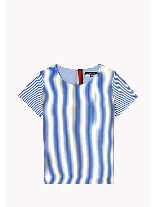 TOMMY HILFIGER Striped Top - SERENITY - TOMMY HILFIGER Girls - main image
