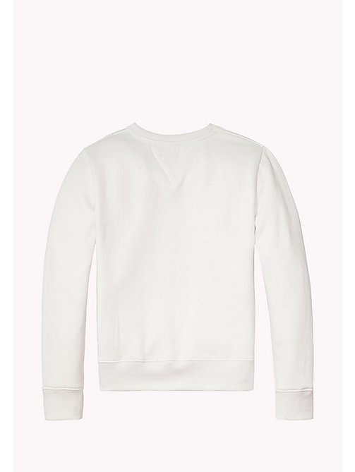 TOMMY HILFIGER Statement Logo Sweatshirt - BRIGHT WHITE - TOMMY HILFIGER Sweatshirts & Hoodies - detail image 1