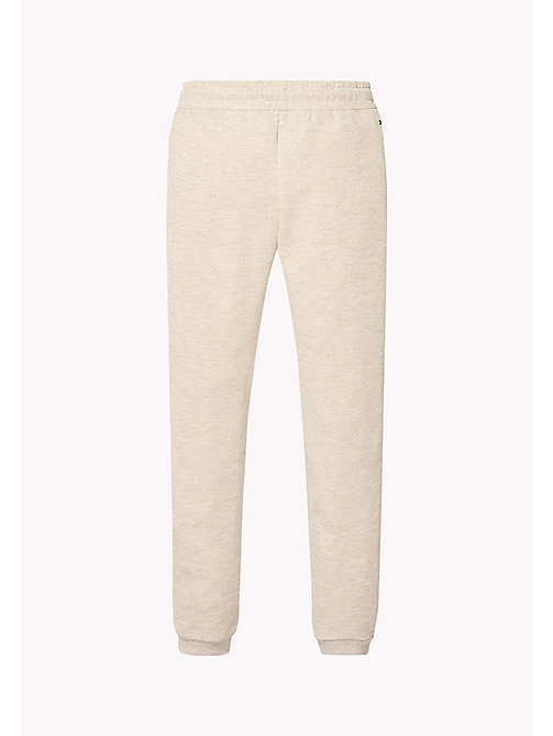 TOMMY HILFIGER Glitter Sweatpants - KHAKI GREY HTR - TOMMY HILFIGER Trousers & Skirts - detail image 1
