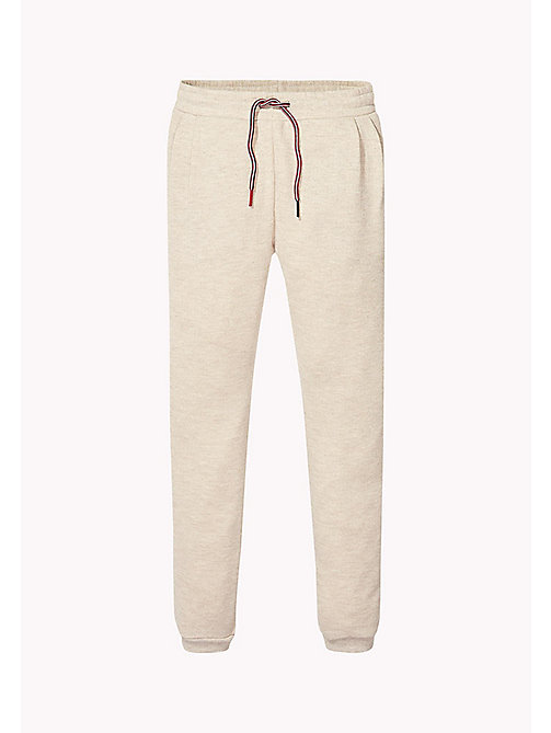 TOMMY HILFIGER Glitter Sweatpants - KHAKI GREY HTR - TOMMY HILFIGER Trousers, Shorts & Skirts - main image