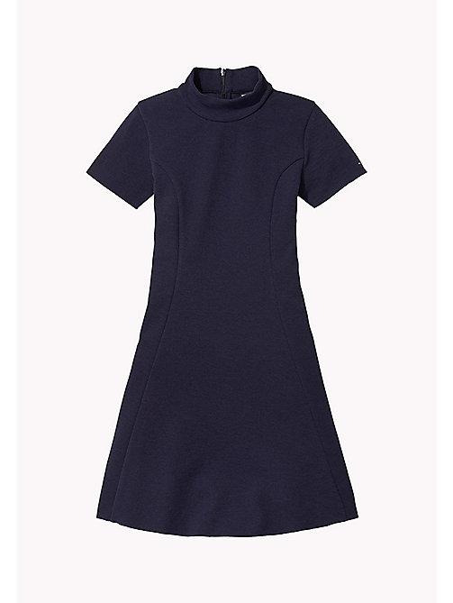 TOMMY HILFIGER Fit and Flare Dress - NAVY BLAZER - TOMMY HILFIGER Girls - main image