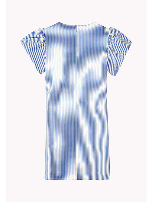 TOMMY HILFIGER Flare Sleeve Cotton Dress - SERENITY - TOMMY HILFIGER Girls - detail image 1