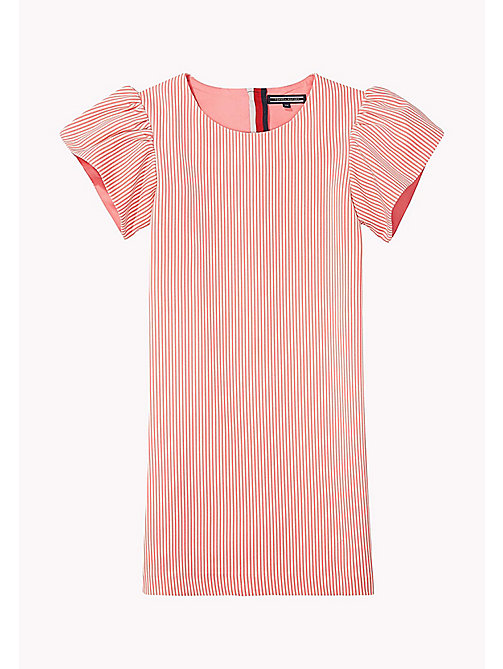 TOMMY HILFIGER Flare Sleeve Cotton Dress - CONFETTI - TOMMY HILFIGER Girls - main image
