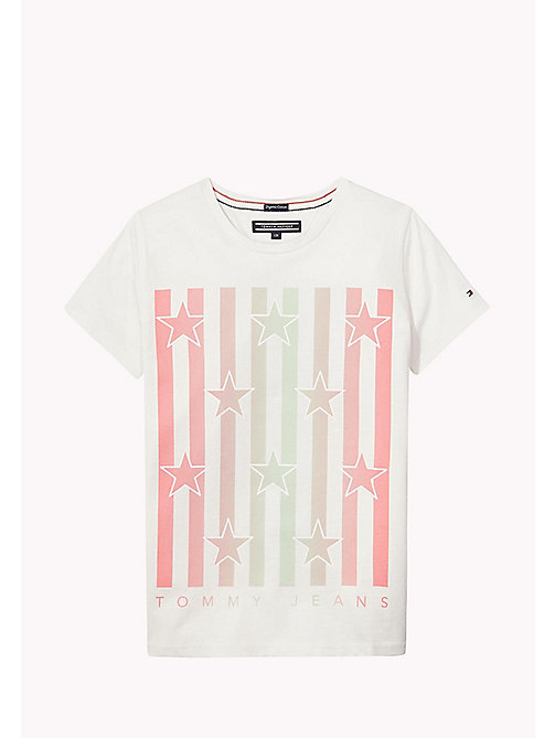 TOMMY HILFIGER Organic Cotton Crew Neck T-Shirt - BRIGHT WHITE? 11-0601 - TOMMY HILFIGER Tops & T-shirts - main image