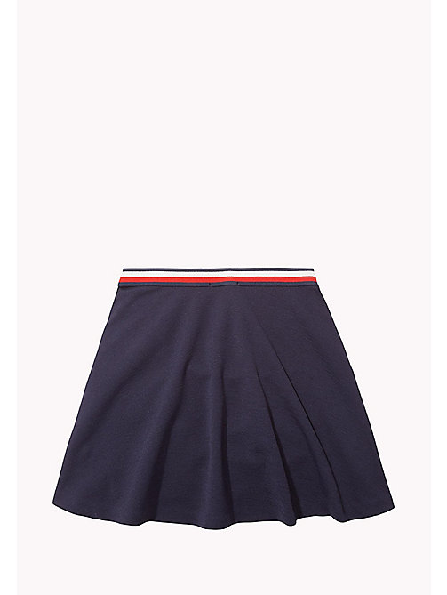 TOMMY HILFIGER TH BASIC SKATER SKIRT - NAVY BLAZER? 19-3923 - TOMMY HILFIGER Unterteile - main image 1