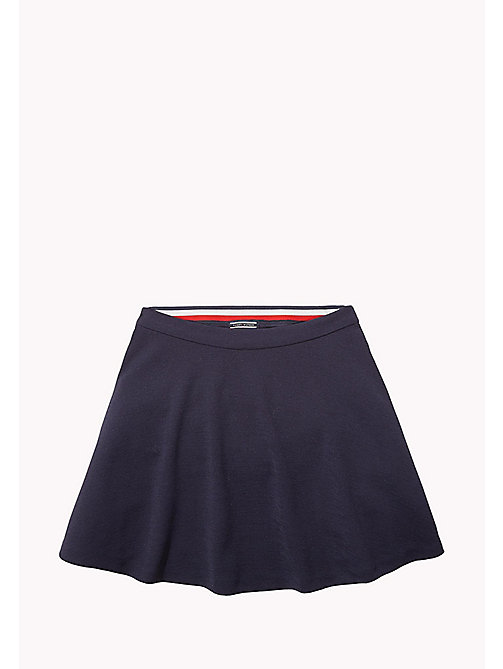 TOMMY HILFIGER TH BASIC SKATER SKIRT - NAVY BLAZER? 19-3923 - TOMMY HILFIGER Unterteile - main image