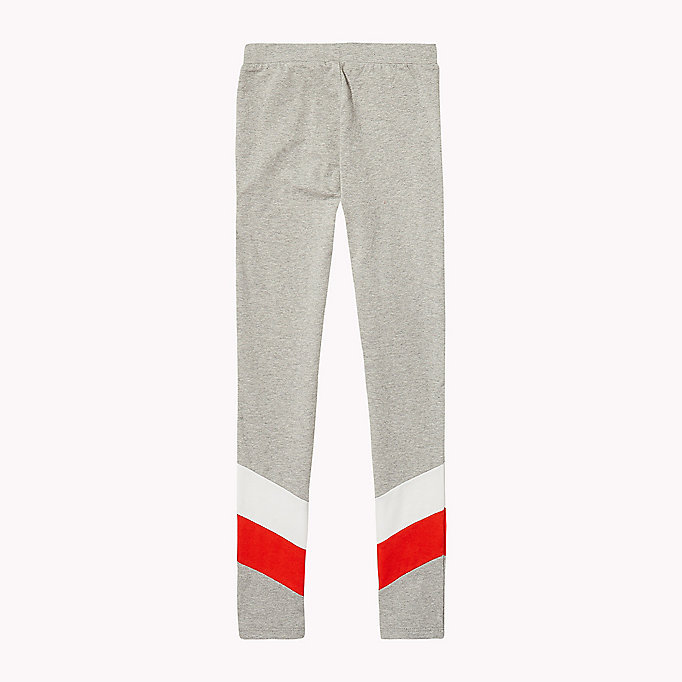 TOMMY HILFIGER Colour-Blocked Leggings - BLACK IRIS - TOMMY HILFIGER Kids - detail image 1