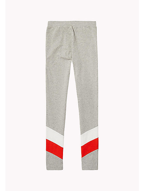 TOMMY HILFIGER Colour-Blocked Leggings - MODERN GREY HEATHER - TOMMY HILFIGER Trousers, Shorts & Skirts - detail image 1