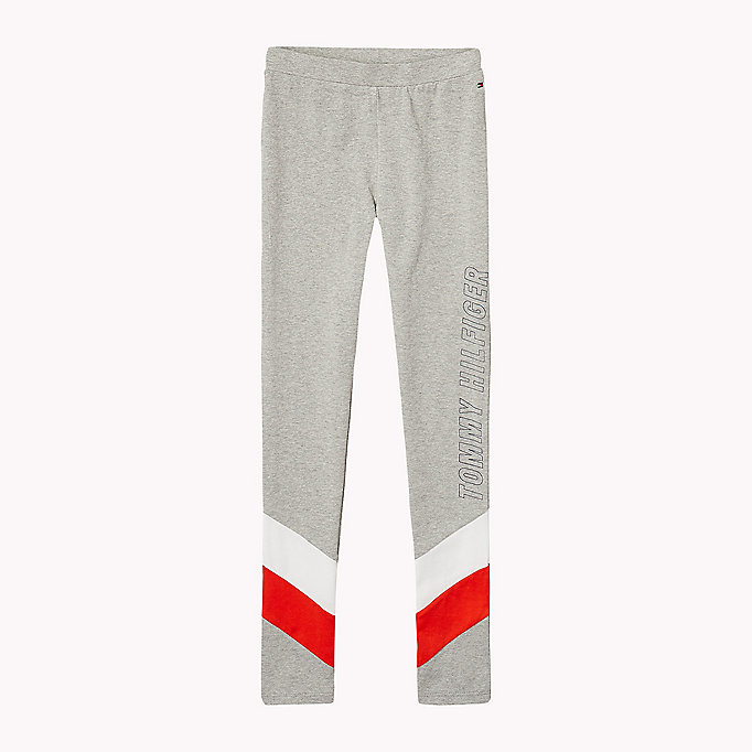 TOMMY HILFIGER Colour-Blocked Leggings - BLACK IRIS - TOMMY HILFIGER Kids - main image