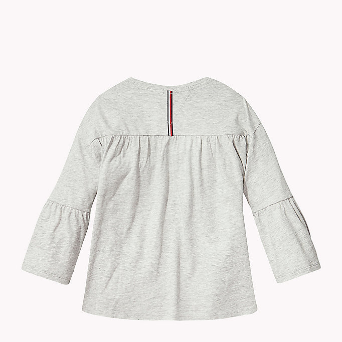 TOMMY HILFIGER 3/4 Length Sleeve T-Shirt - PAPAYA PUNCH - TOMMY HILFIGER Kids - detail image 1