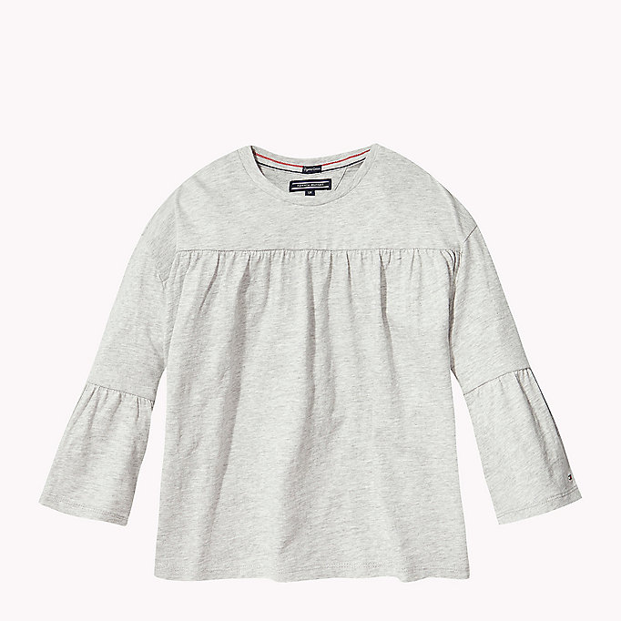 TOMMY HILFIGER 3/4 Length Sleeve T-Shirt - PAPAYA PUNCH - TOMMY HILFIGER Kids - main image