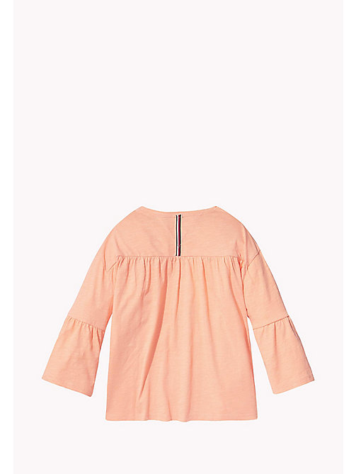 TOMMY HILFIGER 3/4 Length Sleeve T-Shirt - PAPAYA PUNCH - TOMMY HILFIGER Girls - detail image 1