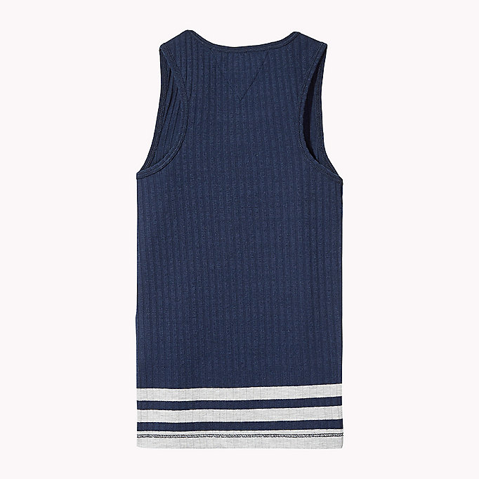 TOMMY HILFIGER Knitted Tank Top - BRIGHT WHITE - TOMMY HILFIGER Kinderen - detail image 1