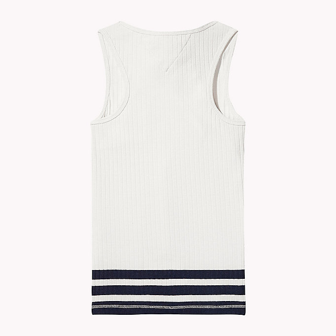 TOMMY HILFIGER Knitted Tank Top - PAPAYA PUNCH - TOMMY HILFIGER Kinderen - detail image 1