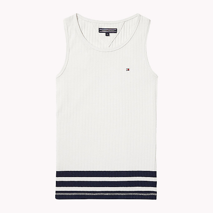 TOMMY HILFIGER Knitted Tank Top - PAPAYA PUNCH - TOMMY HILFIGER Kinderen - main image
