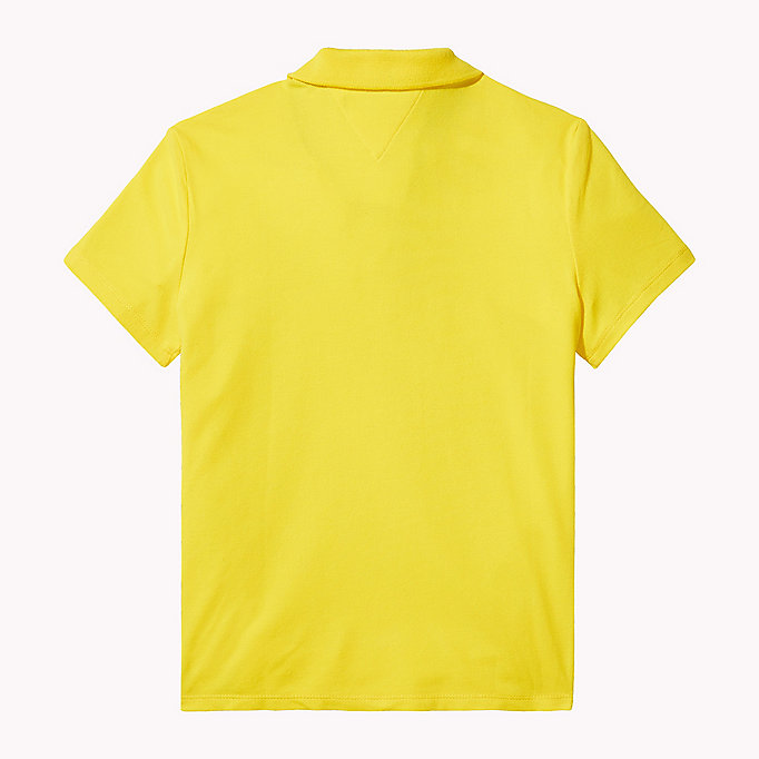 TOMMY HILFIGER BRIGHT BADGE POLO S/S - BLACK IRIS - TOMMY HILFIGER Kids - detail image 1