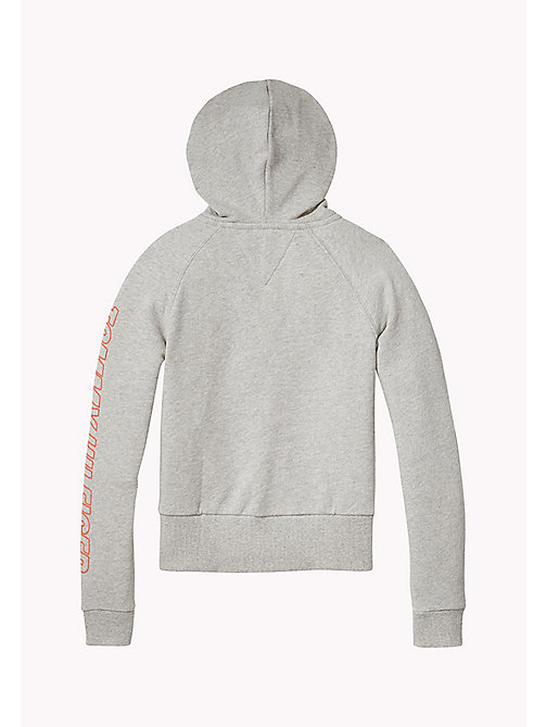 TOMMY HILFIGER Regular Fit Hoodie - LIGHT GREY HTR - TOMMY HILFIGER Sweatshirts & Hoodies - detail image 1