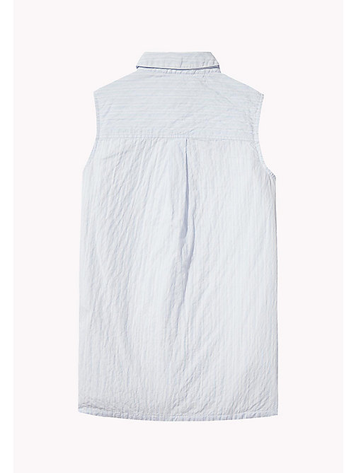 TOMMY HILFIGER Sleeveless Regular Fit Shirt - SERENITY - TOMMY HILFIGER Girls - detail image 1