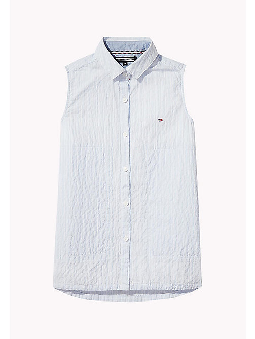 TOMMY HILFIGER Sleeveless Regular Fit Shirt - SERENITY - TOMMY HILFIGER Girls - main image