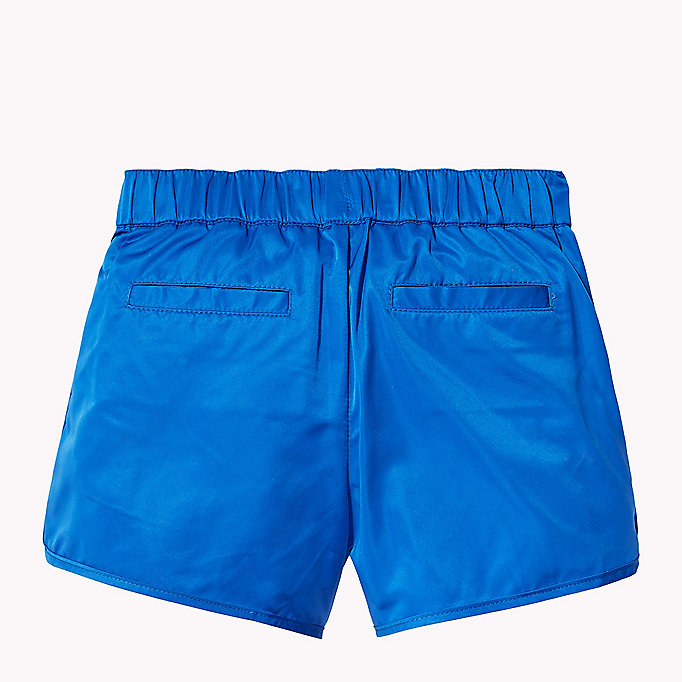 TOMMY HILFIGER Bright Satin Shorts - FLAME SCARLET - TOMMY HILFIGER Kids - detail image 1