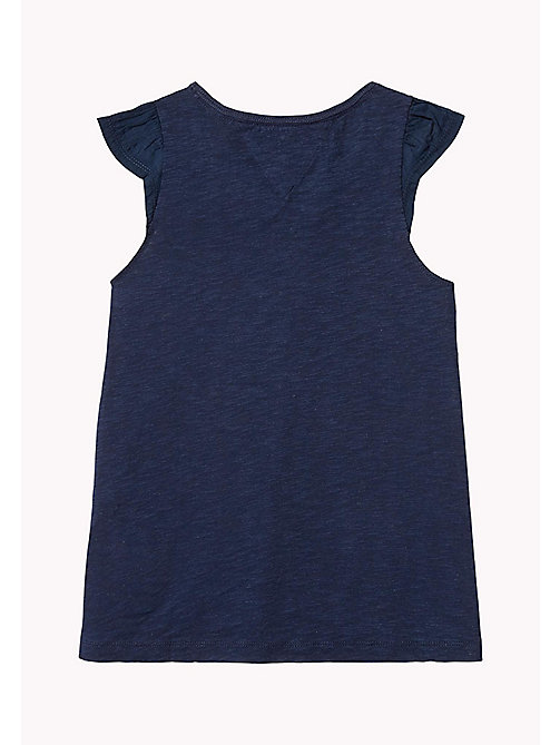 TOMMY HILFIGER Star Print Tank Top - BLACK IRIS - TOMMY HILFIGER Tops & T-shirts - detail image 1
