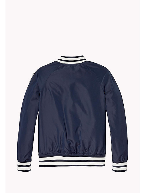 TOMMY HILFIGER Lightweight Bomber Jacket - BLACK IRIS - TOMMY HILFIGER Girls - detail image 1