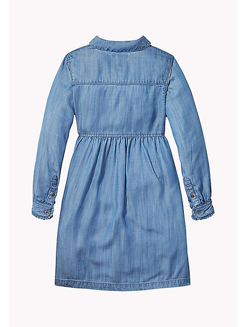 Denim Shirt Dress - INDIGO BLUE -  Mädchen - main image 1