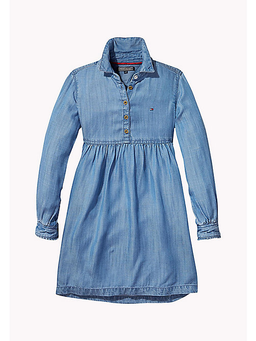 Denim Shirt Dress - INDIGO BLUE -  Mädchen - main image
