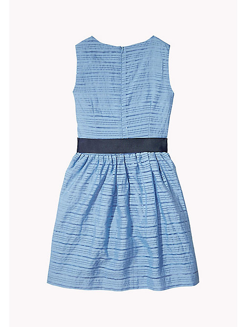 TOMMY HILFIGER Stripe Organza Bow Dress - ALLURE - TOMMY HILFIGER Dresses - detail image 1