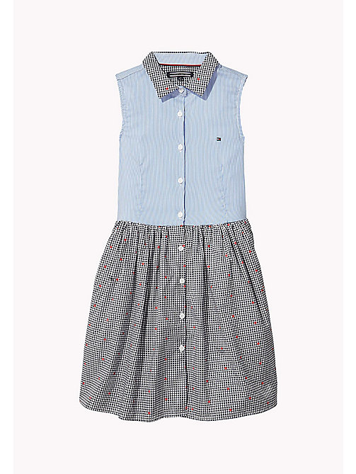 TOMMY HILFIGER Button Down Dress - REGATTA - TOMMY HILFIGER Girls - main image